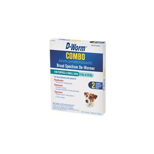 D Worm Combo Dog Supplies Ebay
