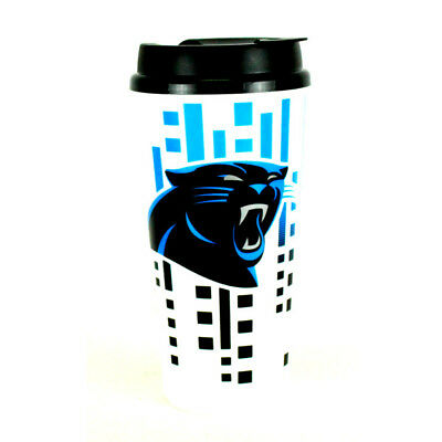 Carolina Panthers 32oz Travel Mug - Carolina Panthers Travel Mug
