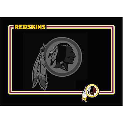 NEW WASHINGTON REDSKINS PREMIUM NEOPRENE PET DOG BOWL MAT OR PLACEMAT NON-SKID