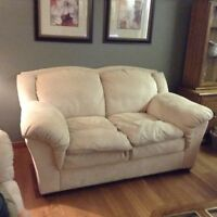 Sofa, love seat, chair