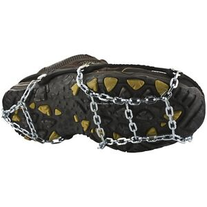 **NEW Yaktrax Icetrekker Square Chain Ice Fishing Creepers Cleats XL 08523