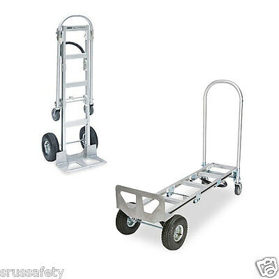 Heavy Duty 61 Senior Aluminum 2-in-1 Convertible Hand Truck Local Pickup Only