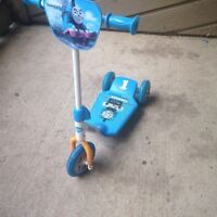 Thomas the train scooter