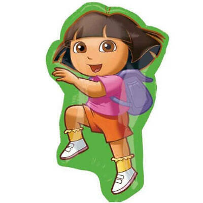 Dora The Explorer Birthday Decorations (*Dora the Explorer* XL Foil Mylar Happy Birthday Party Balloon Decorations)