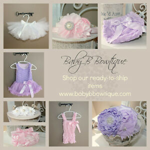 Boutique Items: headbands, diaper covers, tutus and more London Ontario image 1