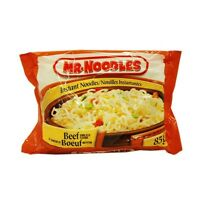 Trade Beef Noodles for Spicy or Shrimp Flavour....