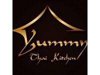Thai kitchen needs staff