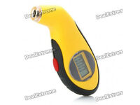 "car 1"" LCD Digital Tire Pressure Gauge"