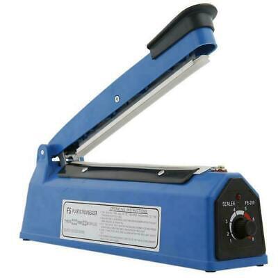 8 300w Impulse Sealer Hand Heat Sealing Machine Poly Plastic Bag Packing Tool