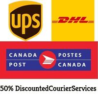 50% Discounted Courier Shipping Services - Canada Post  DHL  UPS