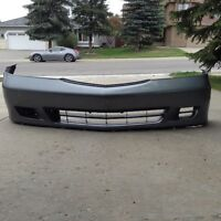 Honda Odyssey Grey Front bumper cover for sale