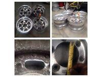 Deep dish split rim jeep alloy wheels Toyota Isuzu Nissan etc