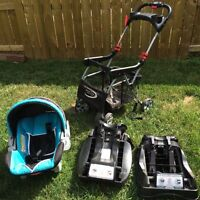 Baby trends infant car seat and stroller