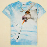 Frozen Olaf Sven T-shirt  pour garçon& fille,for boys & girls