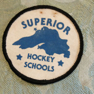 Vintage Hockey School Patches