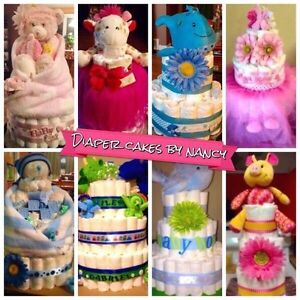 Diaper Cakes Made to Order!