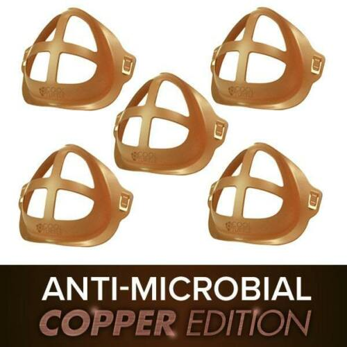 Cool Turtle Anti-Microbial Copper Edition 5-Pack Mask Insert / Support Frame