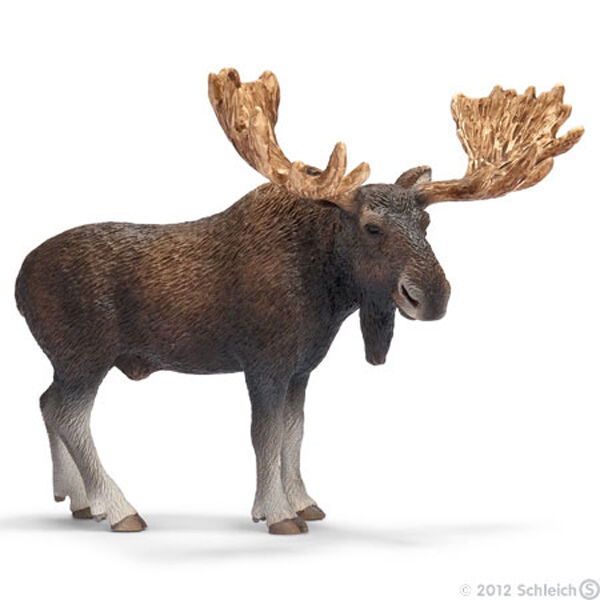 *NEW* SCHLEICH 14619 Moose Bull - RETIRED