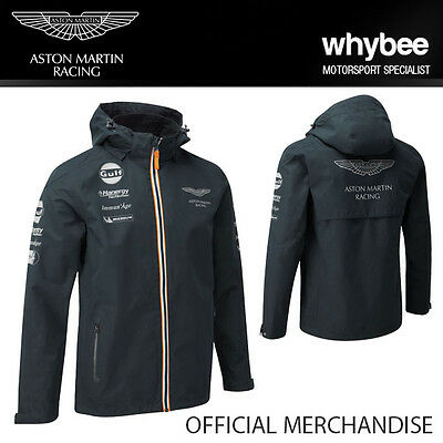 SALE! 2015 ASTON MARTIN RACING GULF TEAM MENS JACKET COAT