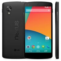 lg nexus5 16gb unlocked clean  color black with charger $250