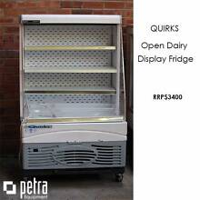 QUIRKS Open Dairy Display Fridge - EXCELLENT CONDITION Lansvale Liverpool Area Preview