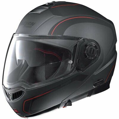 NOLAN N104 EVO ACTION FLAT LAVA GREY 018 MOTORCYCLE HELMET - XXS