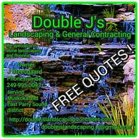 Double J's Landscaping & General Contracting