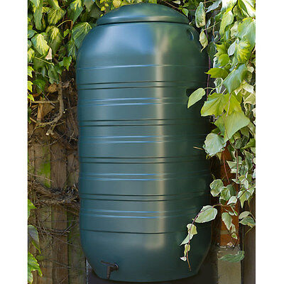 Slimline Water Butt with Tap & Lid - 250 Litres