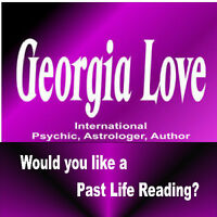 Georgia Love Past Life Reader coming to Prince George
