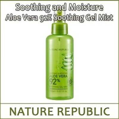 [NATURE REPUBLIC] Soothing & Moisture Aloe Vera 92% Soothing Gel Mist 150ml / L셋