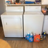 Maytag washer and dryer
