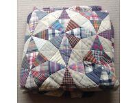 Patchwork Quilt 100%Cotton King Size Excellent Condition £60