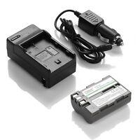 nikon Battery EN-EL3e+Charger Nikon D700 D300 D200 D100 D90 D80+