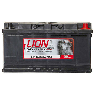 019 Car Battery 3 Years Warranty 95Ah 750cca 12V Electrical - Lion 6002157