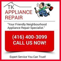 CHEAP APPLIANCE REPAIR! Licensed & Insured (416) 400-3099 !