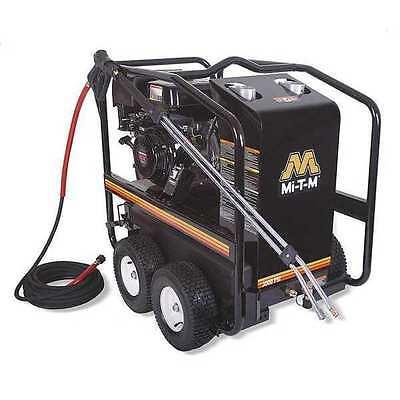 Mi-T-M 3000 psi 2.8 gpm Hot Water Gas Pressure Washer, (Hot Water Gas Pressure Washer)