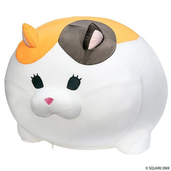 NEW Square Enix FINAL FANTASY XIV Fat Cat Big Cushion Plush Doll from Japan