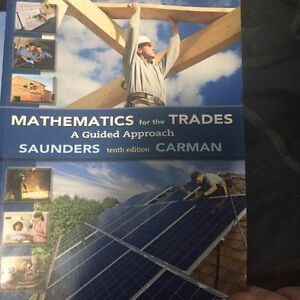 Math for the trade textbook
