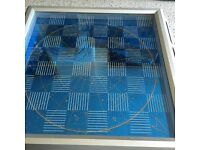 Star Trek chess board and chequers
