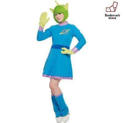 New Disney Toy Story Alien Costume Ladies 155cm-165cm F/S from Japan