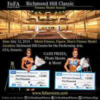 Fitness Models Needed - Cash Prizes - July 12