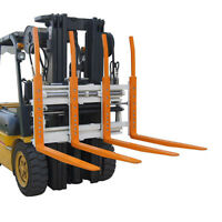 Forklift attachment - double pallet handlers with hydraulic