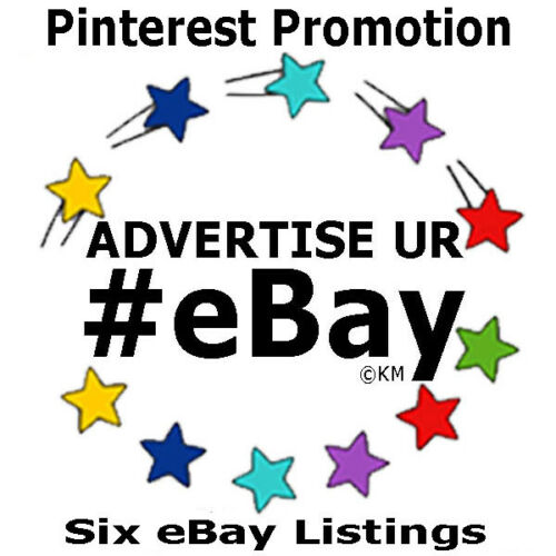 Promote eBay 6 Listings 5 Days of Features Pinterest Advertising Marketing