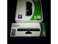 Xbox 360 250gb complete with Kinect and 23 games including Kinect games