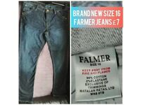 Farmer Jeans size 16 £7 *COLLECTION FROM NP13 AREA*