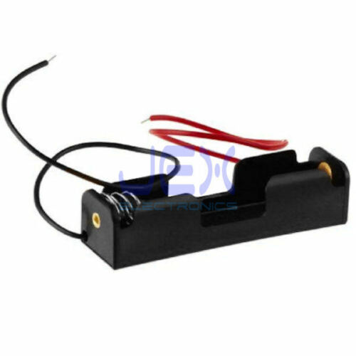 Single/1X AA DIY Battery Holder Case Box Base 1.5V PCB Mount With Bare Wire Ends