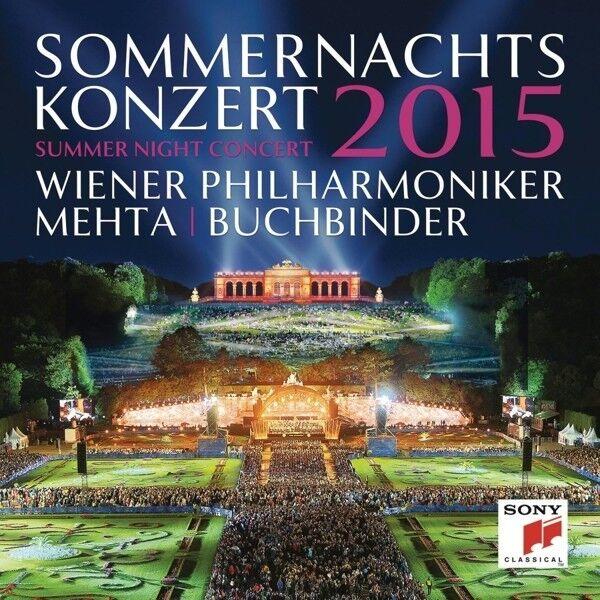 Z./BUCHBINDER,R. WIENER PHILHARMONIKER/MEHTA - SOMMERNACHTSKONZERT 2015  CD NEU