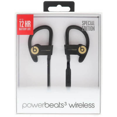 Beats by Dr Dre- Powerbeats3 Wireless Bluetooth Headphones- Trophy Gold