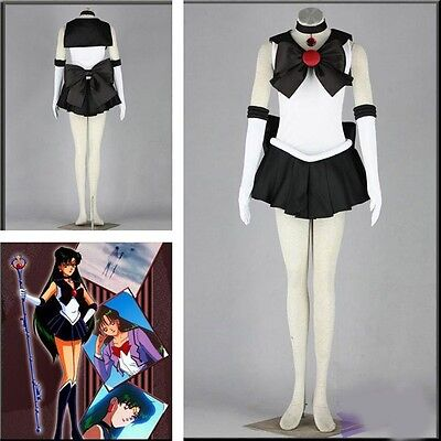 Sailor Moon Sailor Pluto Meiou Setsuna Cosplay Costume Sailor Costume