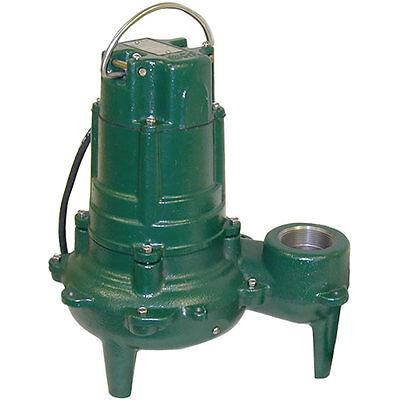 Zoeller N270 - 1 Hp Cast Iron Sewage Pump 2 Non-automatic